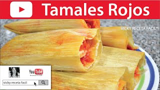 Download TAMALES ROJOS | Vicky Receta Facil Video