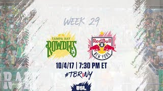 Download USL LIVE - Tampa Bay Rowdies vs New York Red Bulls II 10/4/17 Video