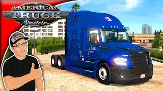 Download American Truck Simulator Mods Freightliner Cascadia 2018 Mod Review Video