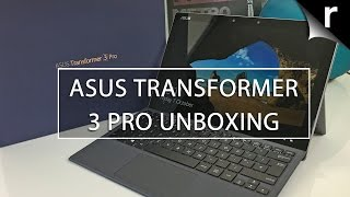 Download Asus Transformer 3 Pro unboxing: A serious Surface rival Video
