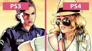 Download Grand Theft Auto 5 / GTA 5 – PS3 vs. PS4 Graphics Comparison [FullHD] Video