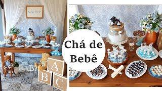 Download Decorando Chá de Bebê Menino Video