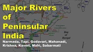 Download Peninsular Rivers of India | Geography UPSC, IAS, NDA, CDS, SSC CGL Video