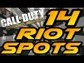Download 14 Riot Spots & Glitches! - Advanced Warfare (Jumps, Hiding & Infected Spots After Patch) Video