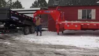 Download MrTruck reviews Load-Trail goosenecks, dumpers, carhaulers, ATV trailers Video