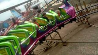 Download On The Sea Dragon Rollercoaster, Hunstanton. Video
