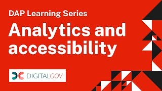 Download DAP Learning Series: Analytics and Accessibility Video