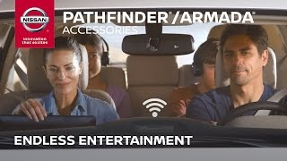 Download 2017 Nissan Pathfinder / Armada Accessories | Endless Entertainment Video