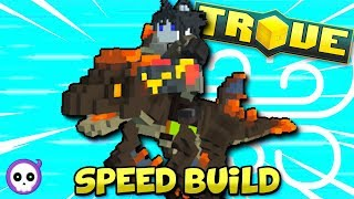Download NEW FASTEST CLASS AFTER U10!? | Trove Dino Tamer Speed Build Video