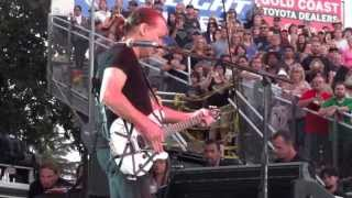 Download VAN HALEN FRONT ROW!! - SHE'S THE WOMAN & ROMEO DELIGHT - PASO ROBLES CALIFORNIA MID STATE FAIR 2013 Video
