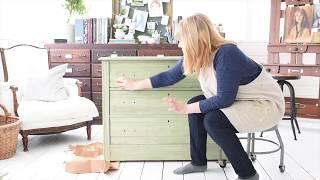 Download two toned milk paint dresser   part 2 Video