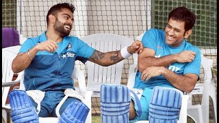Download Ms Dhoni Funny Moments in dressing room Video
