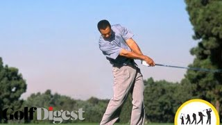 Download The Evolution of Tiger's Swing-Classic Swing Sequences-Golf Digest Video