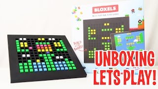 Download Unboxing & Let's Play - BLOXELS: Build Your Own Video Game - FULL REVIEW - Video