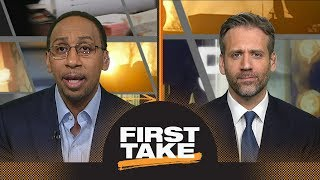 Download Stephen A. has problem with Draymond Green's mom blaming Kevin Durant on Twitter | First Take | ESPN Video