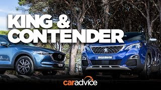 Download Can Peugeot's new 3008 outdo the popular CX-5? Comparison time! Video