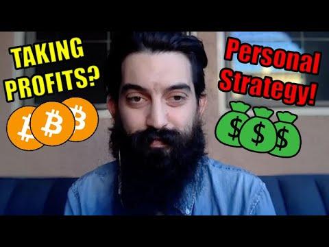 When To Take Profits On Bitcoin! My Personal Strategy   Brian Harrington Bitcoin Meetup Organizer