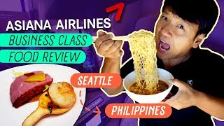 Download SPICY Chick-fil-A & Asiana Airlines Business Class FOOD REVIEW Seattle to Manila Philippines Video