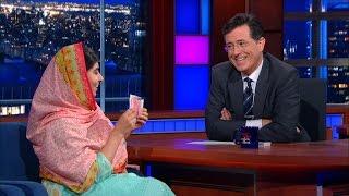 Download Malala Yousafzai & Stephen Do Card Tricks Video