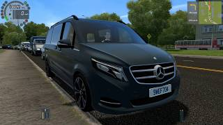 Download City Car Driving - 2016 Mercedes Benz V Class Video