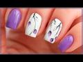 Download Весенний маникюр 2017   Дизайн ногтей с веточками и бутонами   Сиреневые ногти Video