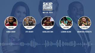 Download UNDISPUTED Audio Podcast (5.28.18) with Skip Bayless, Shannon Sharpe, Joy Taylor   UNDISPUTED Video