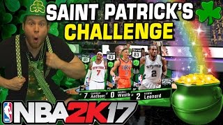 Download NBA2K17 DRUNK SAINT PATRICK'S DAY MYTEAM CHALLENGE! Video