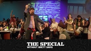Download Dr. Sebastian Gorka (James Adomian) interrupts Sandwich Night | The Special Without Brett Davis Video