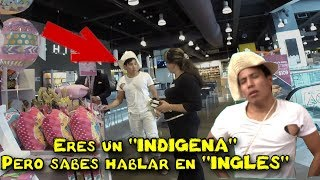 Download INDÍGENA HABLANDO en INGLES en un centro comercial (Experimento social) Video