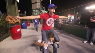 Download Wandering all over the place at Wrigley Field Video