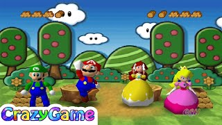 Download Mario Party 3 - All Funny Minigames Gameplay Video