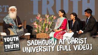 Download Sadhguru at Christ University, Bengaluru – Youth and Truth [Full Talk] Video