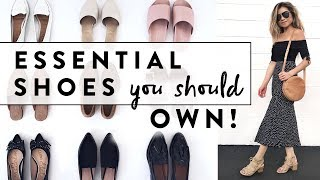 Download 6 Essential Shoes Every Woman Should Own | Minimalist Wardrobe Basics Shoe Guide | Miss Louie Video