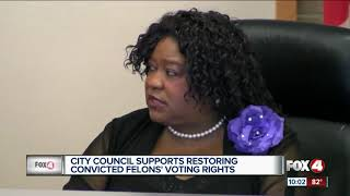 Download Ft. Myers City Council votes to support ballot amendments Video