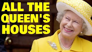 Download A Look Inside the Queen's 6 Lavish Royal Residences Video