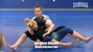 Download Women of Jiu-Jitsu • Jen Allen Russell Seminar at OCBJJ • Kimura Grip Back Take Video