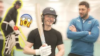Download FACING 100MPH CRICKET BALL!! **Neil & Nile Vs England Squad** Video