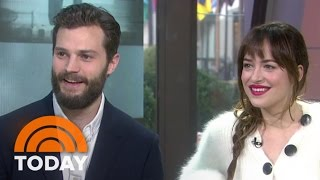 Download Fifty Shades' Jamie Dornan, Dakota Johnson Talk Being Naked On Set | TODAY Video