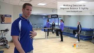 Download Walking Exercises to Improve Balance & Agility Video