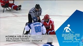Download Korea vs Italy highlights | Ice sledge hockey | Sochi 2014 Paralympic Winter Games Video