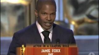 Download Jamie Foxx Wins Best Actor: 2005 Oscars Video
