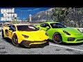 Download Реальная Жизнь в GTA 5 - УЛИЧНЫЕ ГОНКИ НА LAMBORGHINI AVENTADOR ЗА 350.000$ !!! Video