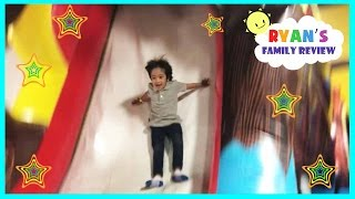 Download Indoor playground family fun play area for kids bounce house and arcade games Ryan's Family Review Video