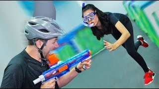 Download NERF Sharks & Minnows Challenge! [Ep. 2] Video