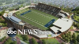 Download Texas District Splurges $63 Million on a High School Football Stadium Video