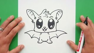 Download Como dibujar un murcielago paso a paso 9 | How to draw a bat 9 Video