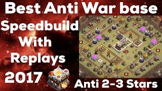 Download Clash Of Clan 🌟 Best Anti TH11 War Base 2017 With SpeedBuild & Replays 🌟 Video