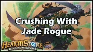 Download [Hearthstone] Crushing With Jade Rogue Video
