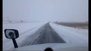 Download BigRigTravels LIVE! Christmas Day Special - Snowy Wyoming Sidney, NE to Laramie, WY I-80 West Video