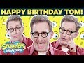 Download Tom Kenny (Voice of SpongeBob) Talks Fan-Favorite Lines IRL 🎂 Happy Birthday! | SpongeBob Video